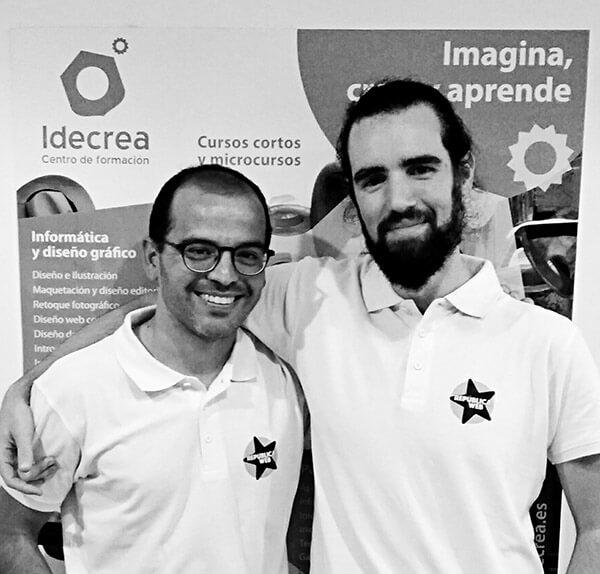 Javier Archeni y Andros Fenollosa del podcast República Web