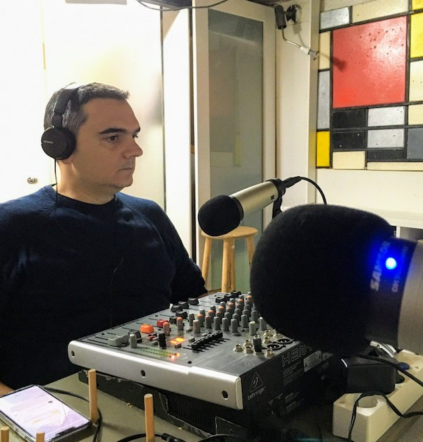 Juan Simón García en el podcast República Web
